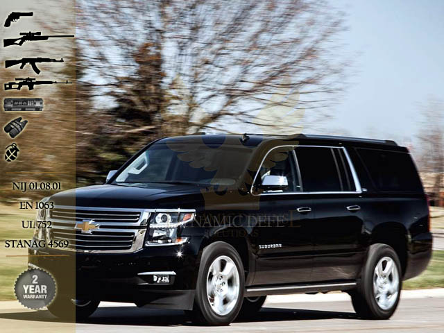 Dynamic Defense Solutions Fze Armored Chevrolet Suburban